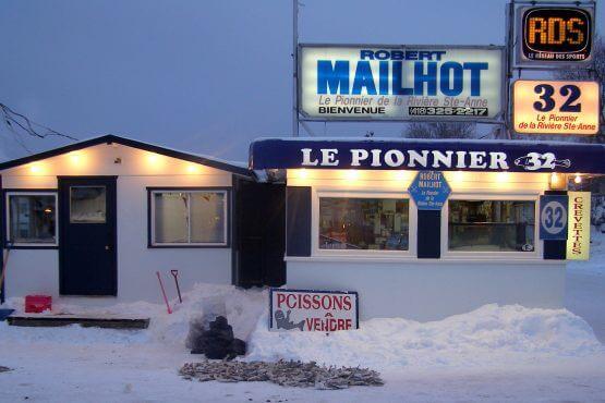 Robert Mailhot pêche poisson des chenaux
