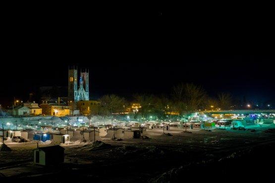 La pêche au petit poisson de nuit à Sainte-Anne-de-la-Pérade