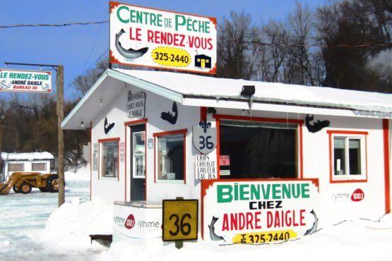 Centre de pêche Le Rendez-vous André Daigle